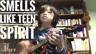 Smells like teen spirit / Nirvana, arranged and played by Feng E, ukulele