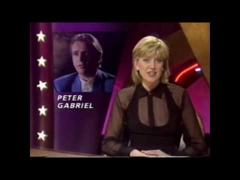 Peter Gabriel talks about WOMAD on British TV (1992)