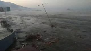 Detik detik Tsunami Kota Palu