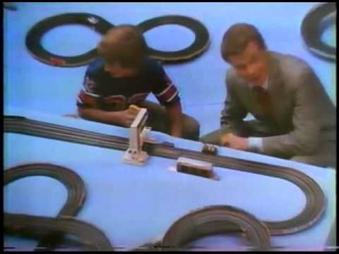 Aurora AFX Race Track Commericals - Slot Cars inc Magna-Sonic Sounds & Ultra5 - Super Cut 02