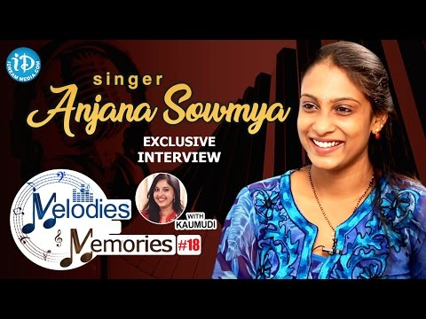 Singer Anjana Sowmya Exclusive Interview || Melodies And Memories #19