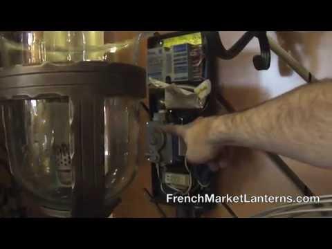 Electronic Ignition Gas Lanterns