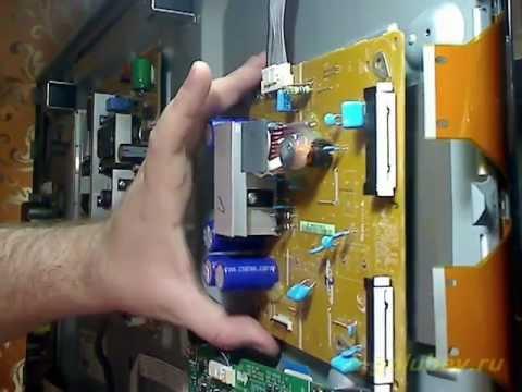 видео: Ремонт плазмы samsung