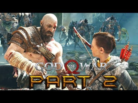 "GOD OF WAR - CHAPTER 2 - ""PATH TO THE MOUNTAIN"" (GOD OF WAR 4 GAMEPLAY WALKTHROUGH)"