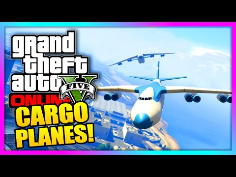 GTA 5 Cargo Plane Modded Job -