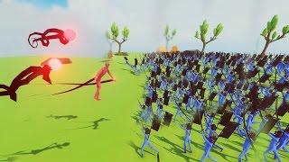 ŞEYTAN VS 1000 ASKER (Savaş Simulator)