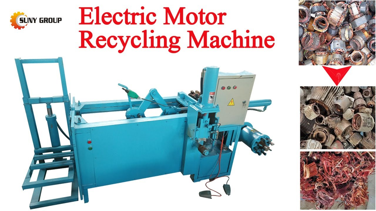 Motor Scrap Machine: How to Dismantle Copper from Electric Motor Stators?