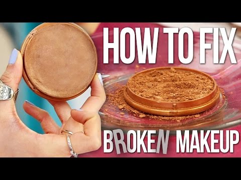 How to Fix Broken Makeup FAST!
