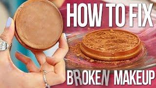 How to Fix Broken Baked Highlighter