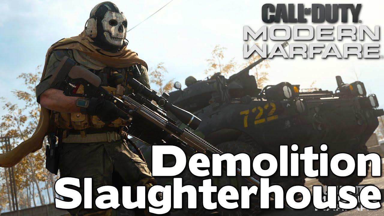 Demolition Slaughterhouse | Call Of Duty Modern Warfare
