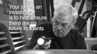 Conducting an Incident Investigation