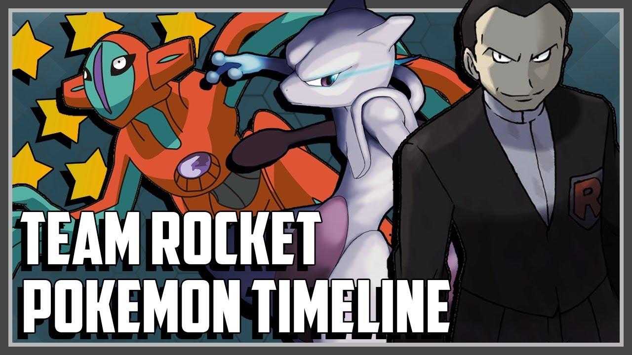 pokemon timeline explained team rocket youtube