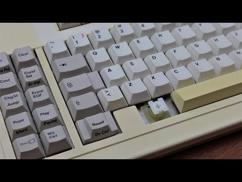 AT&T 56k 460 ACW keyboard review (AT&T magnetic separation switches)