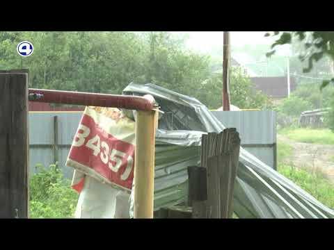 Последствия урагана в Кушве