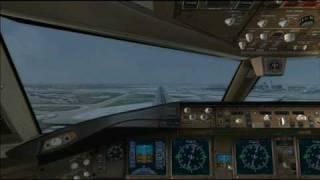 Boeing 777 - Landing Chicago O'Hare ( FS2004 )