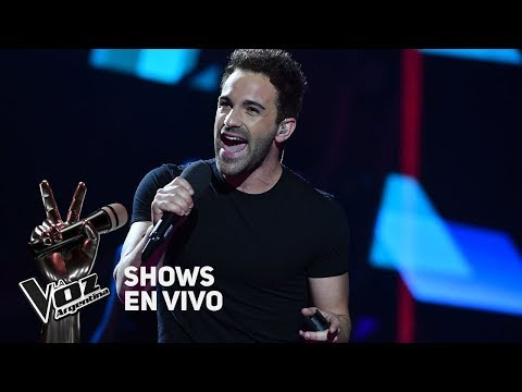 Live Shows #TeamMontaner: Braulio canta