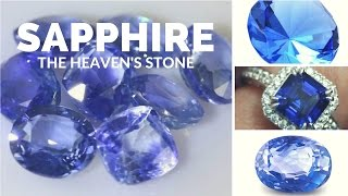 The Heaven's Stone The Magic of Sapphire -- Crystal Meanings and Uses