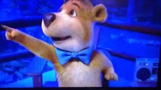 Yogi Bear dance scene