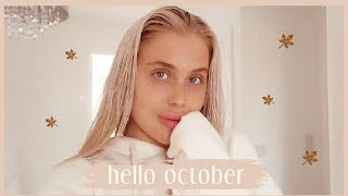 HELLO OCTOBER | a very cosy, chilled weekend in my life ✨