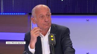 Gilbert Collard avec Jean Michel Aphatie