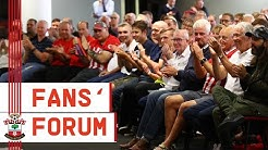 FANS' FORUM: Southampton supporters put questions to club panel