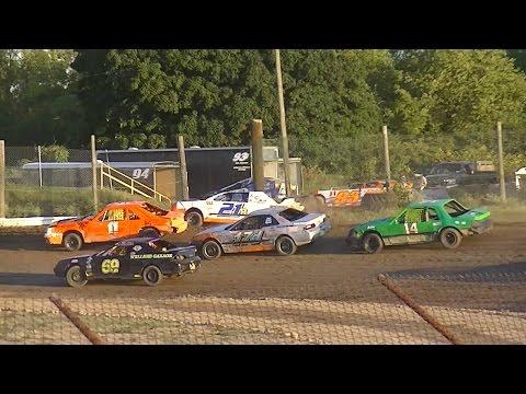 Mini Stock Heat Two | Genesee Speedway | 9-3-16