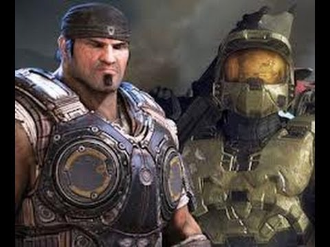 halo and gears of war crossover igame2tv youtube