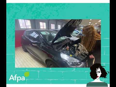 Denista HRISTOVA, Technicienne Electromécanicienne Automobile