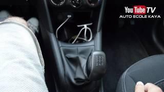 Comment changer les vitesses d'une voiture