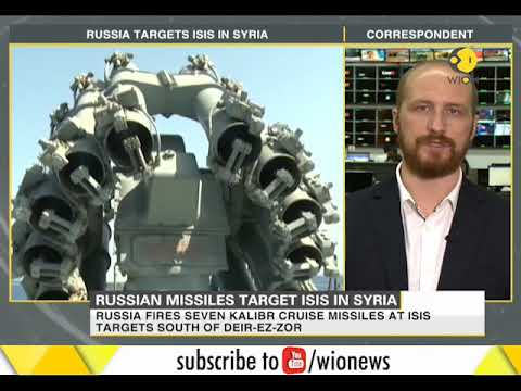 Russian Missiles Target ISIS In Syria