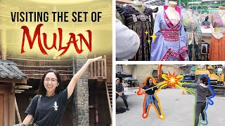 DISNEY sent me to New Zealand to visit the set of MULAN!