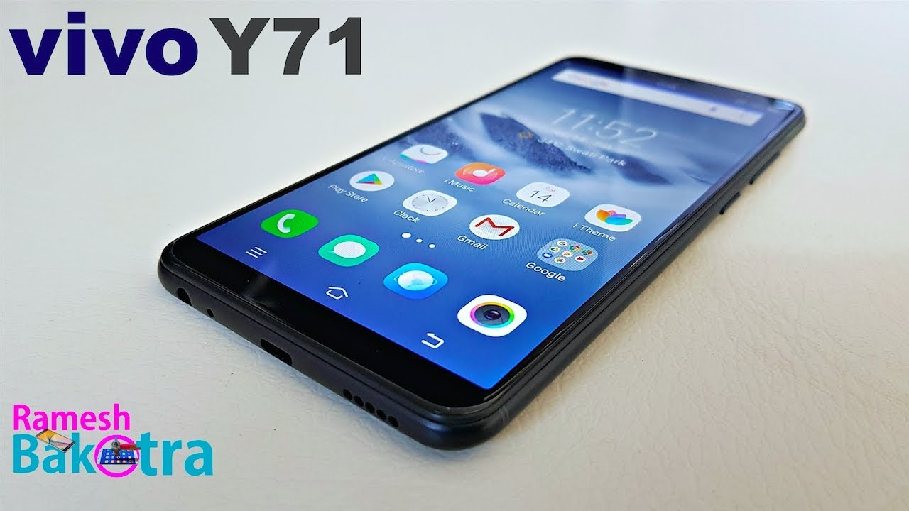 finest selection 47419 33525 Vivo Y71 Unboxing and Full Review