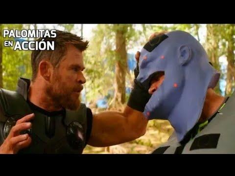 Hậu Trường Hiệu Ứng Của Phim Avenger Infinity War : Thanos Vs Hulk thumbnail