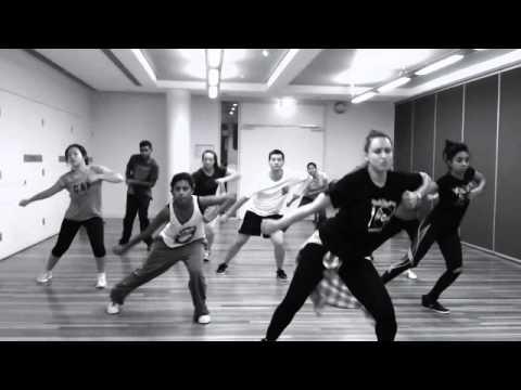 Bubblegum hip hop dance class