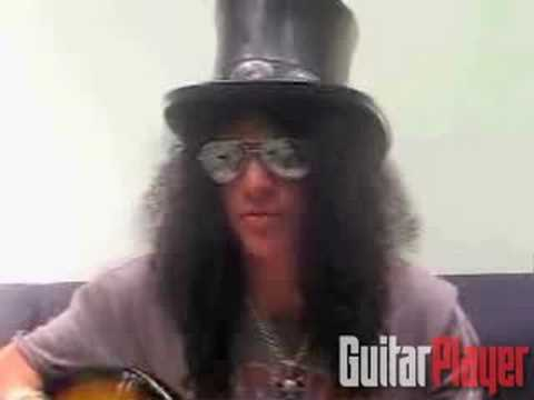 "Slash on  ""Fall To Pieces"""