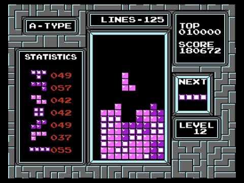 INSANE Tetris (NES) Level 30!! 300 Lines World Record