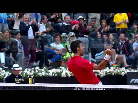 Djokovic Clinches First Set Against Nadal Rome 2016