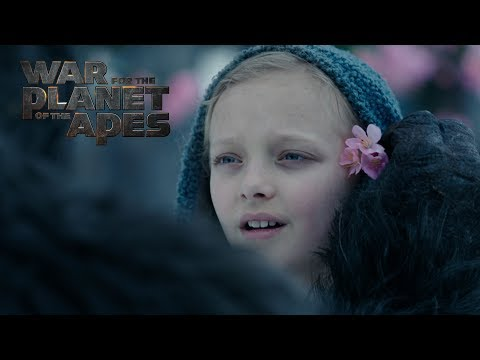 War For the Planet of the Apes | 'Meeting Nova' | Official HD Clip 2017