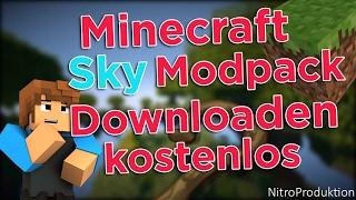 Minecraft Sky Modpack installieren + kostenloser Download, Deutsch