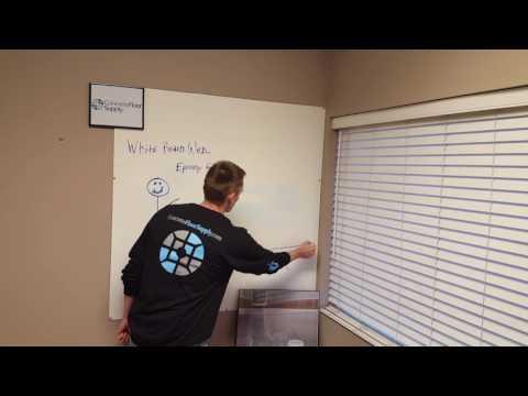 Broadcasting Epoxy Flakes DIY