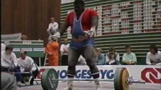 WC Powerlifting 1987 part 14 FINAL