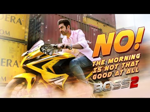 No! The Morning Is Not That Good At All | Boss 2 | Bangla Movie Clip | Jeet