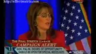 Sarah Palin: Anti-Science, Anti-Research, Anti-Intelligence  (Anti-Fruit Fly)
