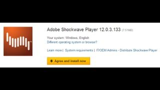 How to Download - Install Shockwave Player