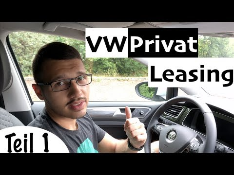 volkswagen leasing privat