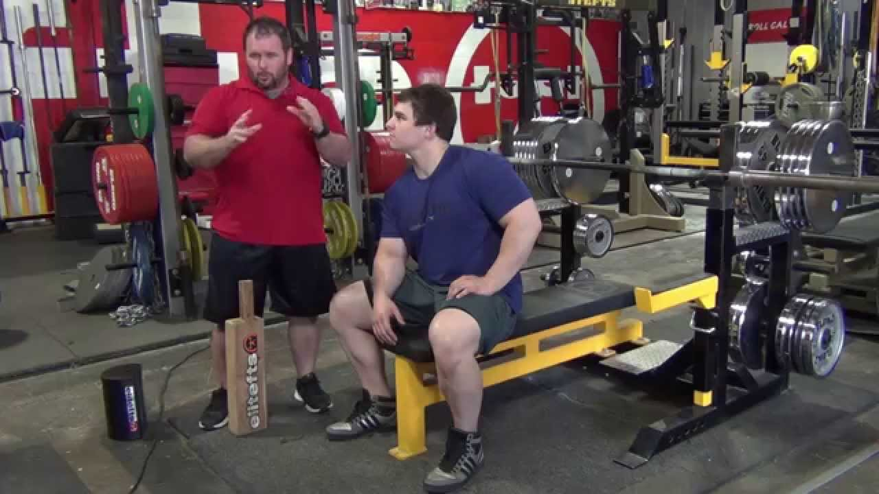 elitefts—board press technique for sports performance - youtube