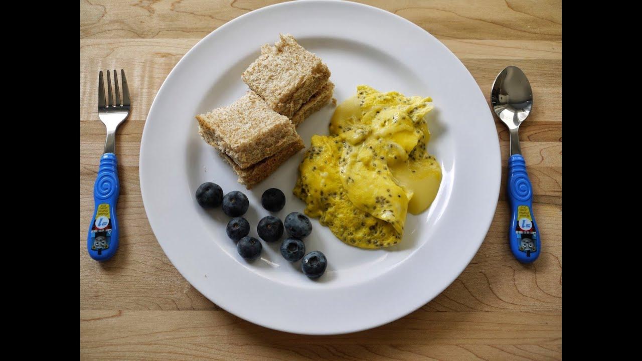Chia Seed Scrambled Eggs