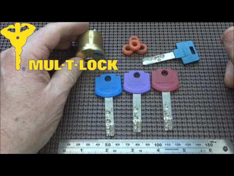 (109) Review: Mul-T-Lock Interactive 3-Piece Bump Key Set