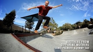 Brothers From Different Mothers: Jamie Palmore and Jimmy Cao | TransWorld SKATEboarding