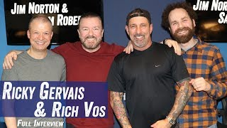 Ricky Gervais - 'After Life', Rude People, Annoyances w/ Rich Vos  - Jim Norton & Sam Roberts